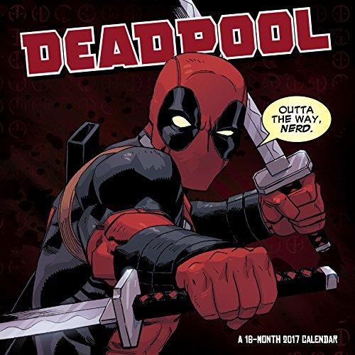 Deadpool Wall Calendar (2017)