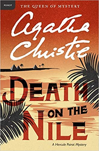 Image result for death on the nile book cover