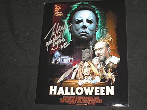 TONY MORAN Signed Halloween 8x10 Photo Autograph Michael Myers -