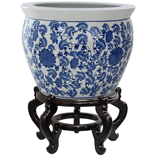 China Blue Floral Accents - 7