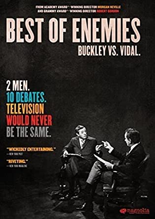 Image result for best of enemies poster