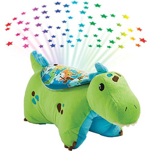 - Pillow Pets Sleeptime Lites Green Dinosaur Stuffed Animal Plush Night Light