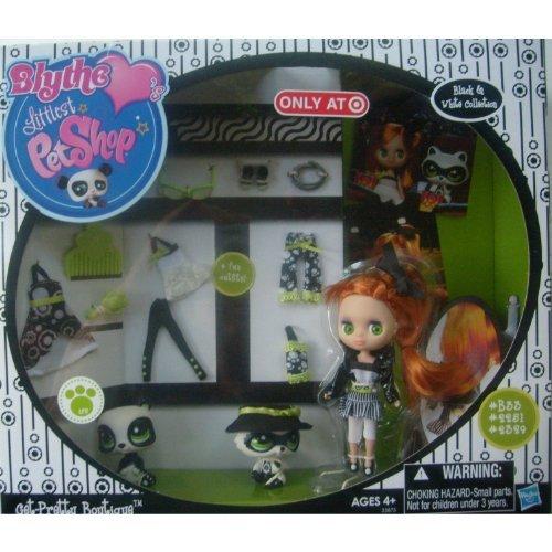 Littlest Pet Shop Blythes Black White Collection Exclusive Playset GetPretty Boutique