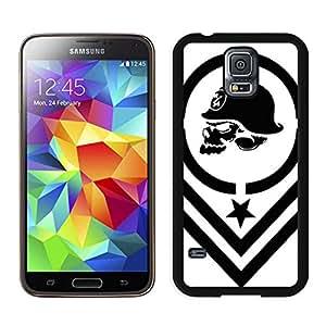 Personalized and Unique Case metal mulisha Samsung Galaxy S5 I9600 Black Case