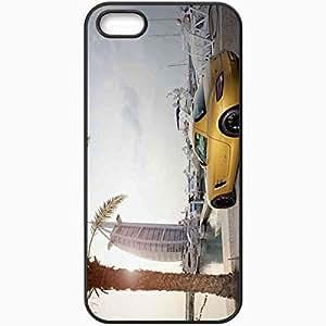 Protective Case Back Cover For iPhone 5 5S Case Mercedes Bens Sls Car Dubai Burj Al Arab Black