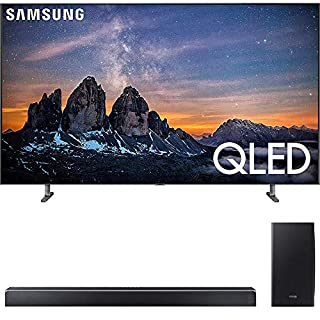 "SAMSUNG QN75Q80RA 75"" Q80 QLED Smart 4K UHD TV (2019) w/ HWQ80R Soundbar Bundle"