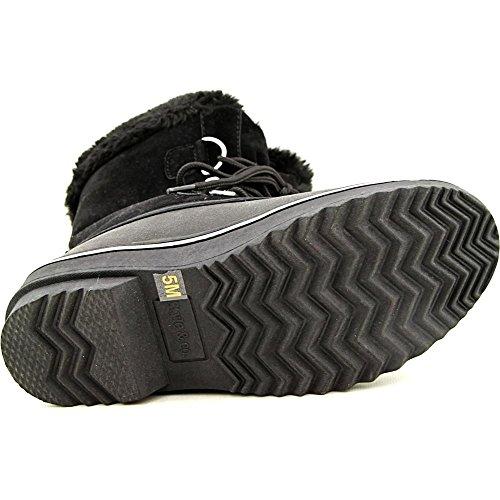 Style & Co. Mikkey Women US 7 Black Snow Boot 7FAKjpk336