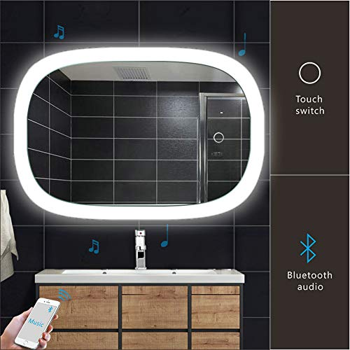 Bluetooth Bathroom Mirrors 1 Top Best Bluetooth