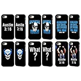 Official WWE Steve Austin Black Fender Case for Apple iPhone 7 / iPhone 8