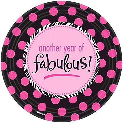 Amazon.com: Another Year of Fabulous adultos fiesta de ...