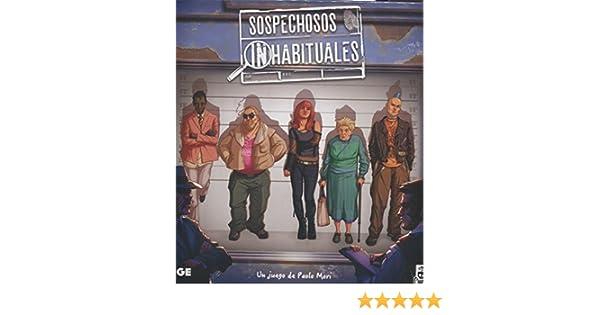 Edge Entertainment - Sospechosos inhabituales (EDGCRC01): Amazon.es: Juguetes y juegos