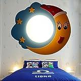 Children 's room wall lamp bedside lights aircraft pirate ship cartoon boy bedroom eye reading lamp Korean cartoon lu2011037py
