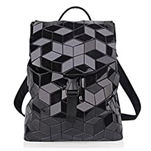 CHNHIRA Leisure Candy Color Cube Backpack Bag