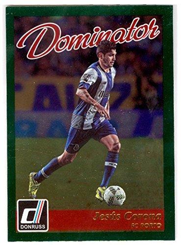2a0d9d880 Jesus Corona Tecatito trading card (Soccer Football FC Porto Portugal Mexico)  2016 Donruss  40 Dominator Insert at Amazon s Sports Collectibles Store