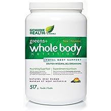 Genuine Health Greens+ Fermented Whole Body Nutrition (Vanilla Chai)