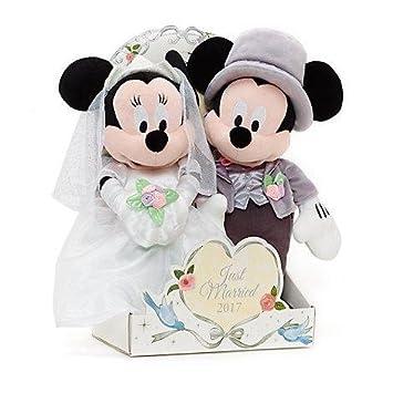 Offizielle Disney Mickey & Minnie Maus 2017 Hochzeit Soft Plüschtier ...