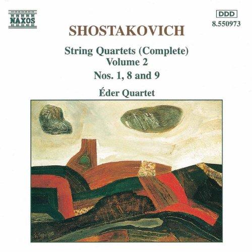 Shostakovich: String Quartets Nos. 1, 8 And 9 ()
