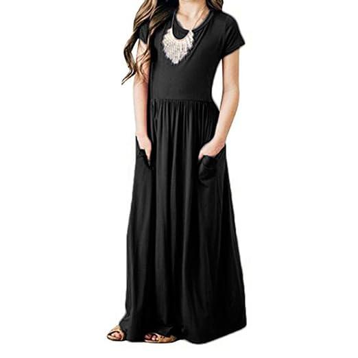 Floor Length Casual Dresses for Girls