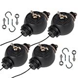 4x Adjustable Yoyo Hanger 26.4lbs Weight Capacity/Pair for HPS MH T5 Reflector Grow Light Kit Hydroponics Review