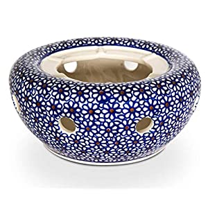 Bunzlauer Ceramic Teapot Warmer Diameter 17.0 cm, Height 7.8 cm, Design 120