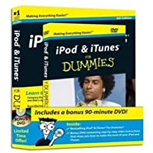 iPod & iTunes For Dummies, DVD + Book Bundle