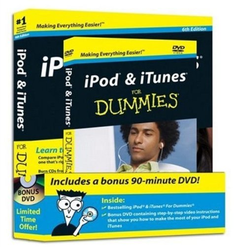 iPod & iTunes For Dummies, DVD + Book Bundle (Cd Player I Pod)