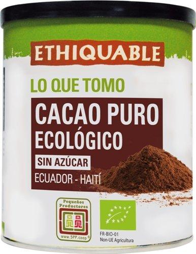 Ethiquable Cacao Puro en Lata Bio - 200 gr: Amazon.es: Alimentación y bebidas