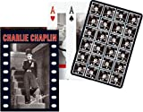Piatnik Playing Cards - Charlie Chaplin single deck by Gibsons Games