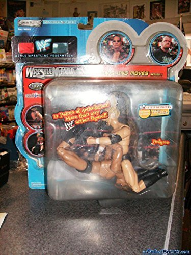Jakks Pacific WWF Jericho & Kurt Angle Wrestlemania XVII Finishing Moves Series I Figure Set