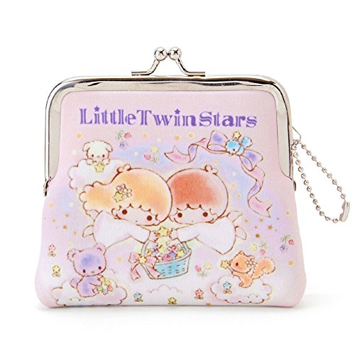 Sanrio Little Twin Stars purse coin case Hoshi From Japan New by Sanrio