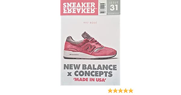 Sneaker Freaker Magazine Issue # 31 Concepts x Rose x New