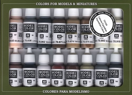 Vallejo Equestrian Colors Paint Set, 17ml