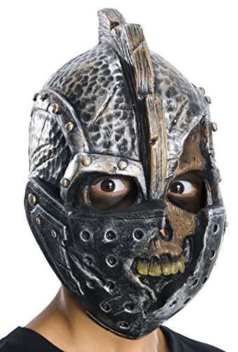 Rubie's Costume Child's Knight Vinyl 1/2 Mask (Scary Girl Costumes Child)