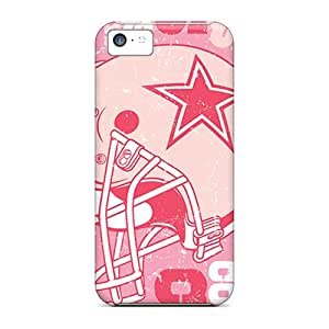 Anti-scratch And Shatterproof Dallas Cowboys Phone Case For Iphone 5c/ High Quality Tpu Case