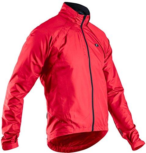 SUGOi Men's Versa Bike Jacket, Chili Red, Large