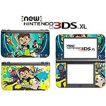 Ben 10 Reboot Ten 2016 Cartoon Tennyson Video Game Vinyl Decal Skin Sticker Cover for the New Nintendo 3DS XL LL 2015 System Console