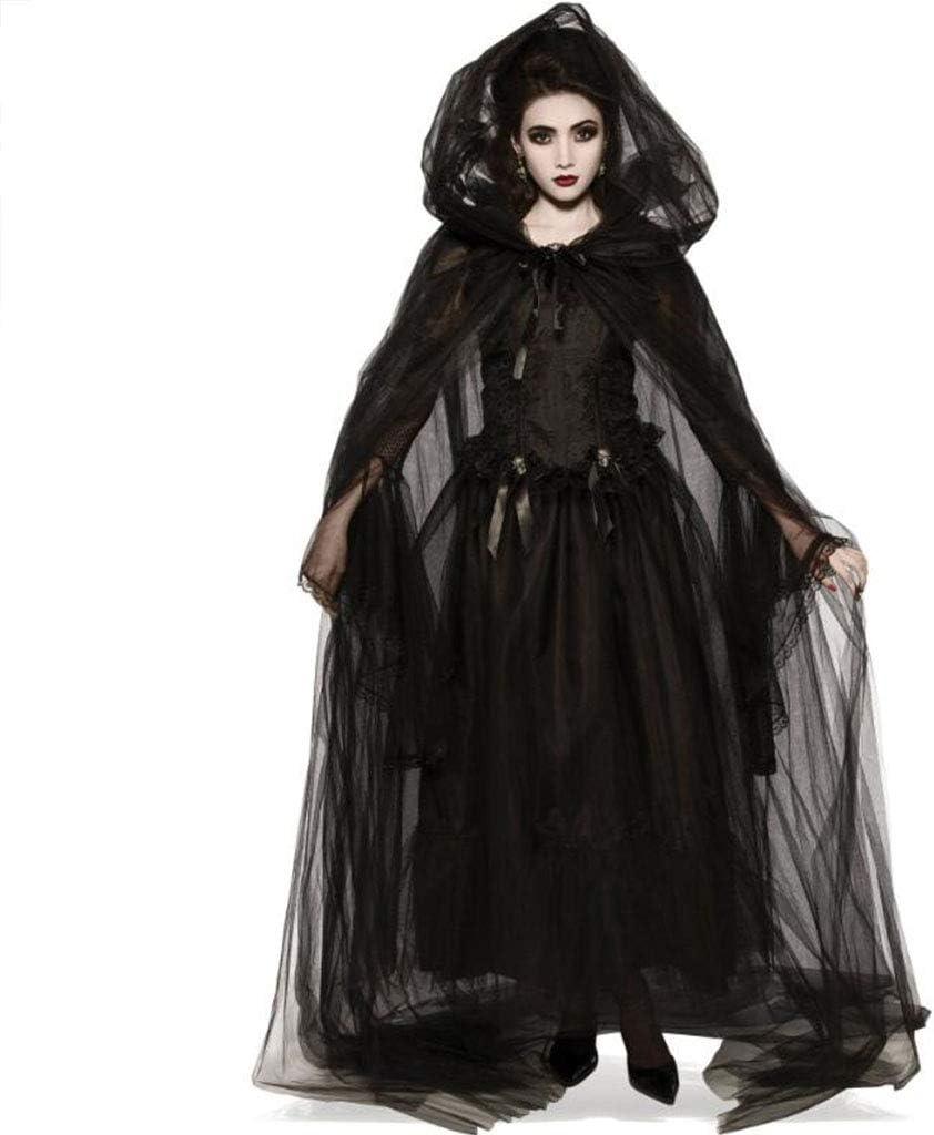 HZH Disfraz de Diosa de la Muerte de Halloween, Que incluye1(Falda ...