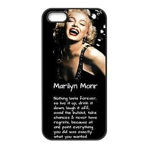 Funny Marilyn Monroe Hard Plastic iphone 4 4s Durable Case