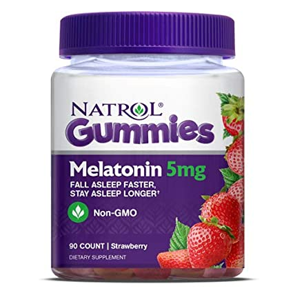 Image Unavailable. Image not available for. Color: Natrol Melatonin Gummies 5 mg ...