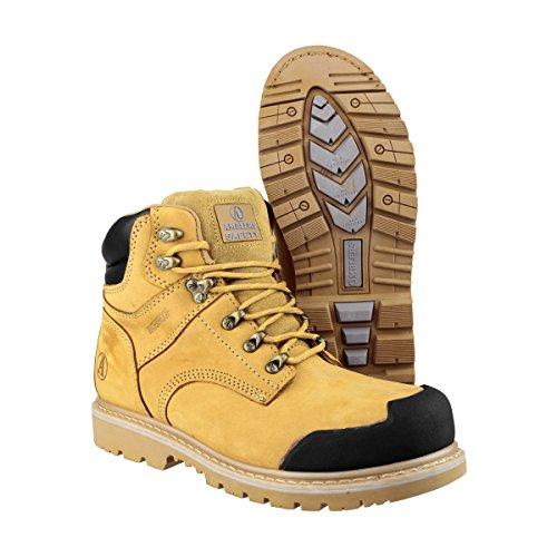 Miel UK sécurité 13 Steel homme de Amblers pour Chaussures Beige Cz0wq