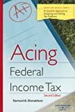 acing business - Acing Federal Income Tax (Acing Law School Series) (Acing Series)