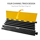 Durable Cable Protective Ramp Cover - Supports