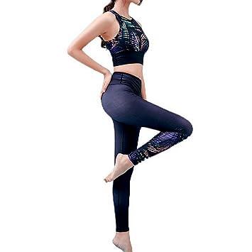 XYACM Ropa de Fitness for Mujeres Yoga Damas Pantalones de ...