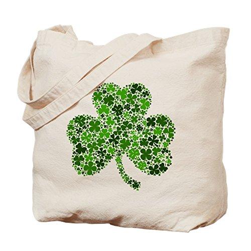 CafePress - Shamrock Of Shamrocks - Natural Canvas Tote Bag, Cloth Shopping Bag