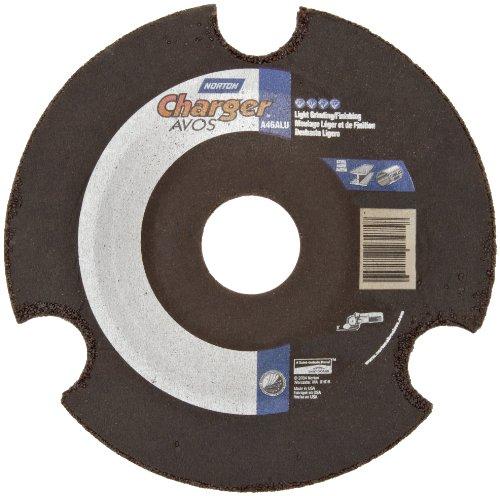 Norton Charger AVOS Depressed Center Abrasive Wheel, Type 29, Aluminum Oxide, 7/8