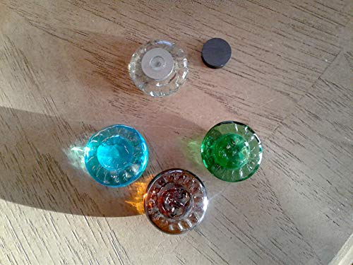 Magnets SunFace ~ 8 Shower Curtain Weights/Tablecloth Weights ~ Galvanized Steel ()