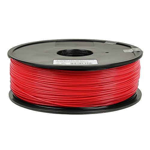 Inland 1.75mm Red ABS 3D Printer Filament - 1kg Spool (2.2 - Inland Center