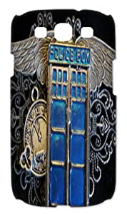 Doctor Who Tardis Police Call Box Samsung Galaxy S3 I9300 Case Cover