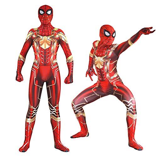 Unisex Lycra Spandex Zentai Halloween Cosplay Costumes Adult/Kids 3D Style (Kids-L ()