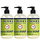 Mrs. Meyer´s Clean Day Hand Soap, Lemon Verbena, 12.5 fl oz, 3 ct